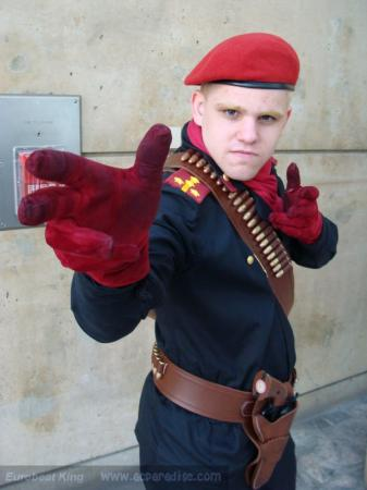 Major Ocelot from Metal Gear Solid 3: Snake Eater