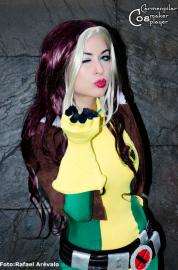 Rogue from X-Men worn by Carmenpilar Best