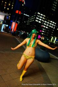 Lum from Urusei Yatsura worn by Mia Hinano