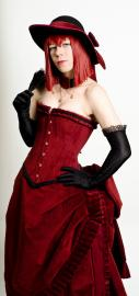 Madam Red from Black Butler worn by Idzerda