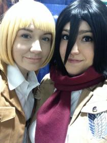 Mikasa Ackerman from Attack on Titan worn by nightkinks