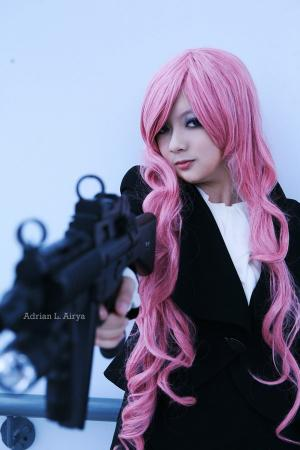 Megurine Luka from Vocaloid 2 worn by Adrian L. Airya