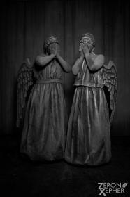 Weeping Angel from Doctor Who  by Kilayi