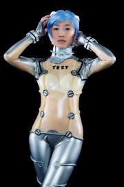 Rei Ayanami from Neon Genesis Evangelion worn by Stella Chuu