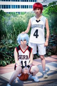 Kuroko Tetsuya from Kuroko's Basketball worn by Shinigami Clover