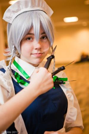 Sakuya Izayoi from Touhou Project (Worn by Tea-San)