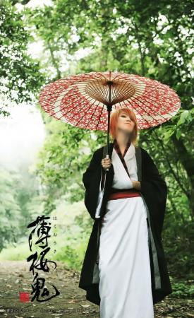 Kazama Chikage from Hakuouki Shinsengumi Kitan worn by KanRyukai