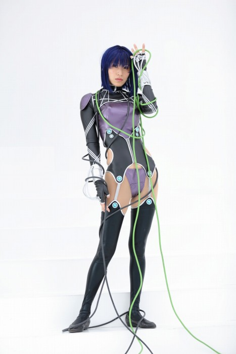 Cosplayer Shin Costume Of Motoko Kusanagi From Ghost In The Shell