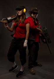 Scout from Team Fortress 2 worn by Trillian-Z