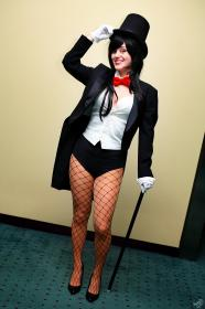 Zatanna Zatarra from DC Comics worn by Trillian-Z