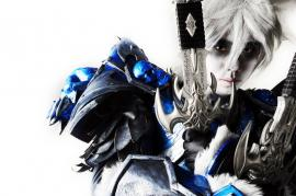 Death Knight from World of Warcraft worn by Crimson Shirou