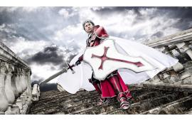 Heathcliff from Sword Art Online worn by Crimson Shirou