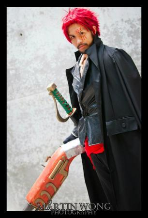 Shanks from One Piece worn by Johnny