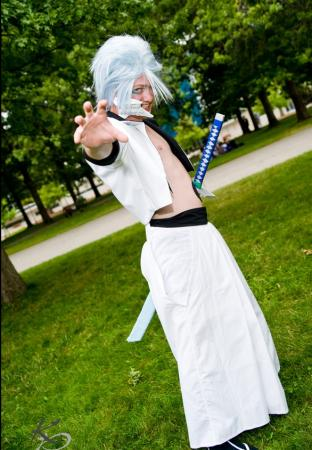 Grimmjow Jeagerjaques from Bleach worn by grimmy