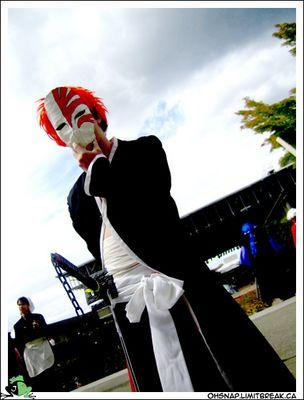 Ichigo Kurosaki from Bleach worn by grimmy