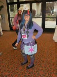 Twilight Sparkle from My Little Pony Friendship is Magic worn by Gen