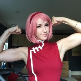 Sakura Haruno from Naruto Shippūden by Cardboardhoard
