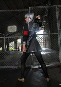 Peko Pekoyama from Dangan Ronpa worn by Cardboardhoard