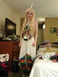 Lady Rainicorn from Adventure Time with Finn and Jake