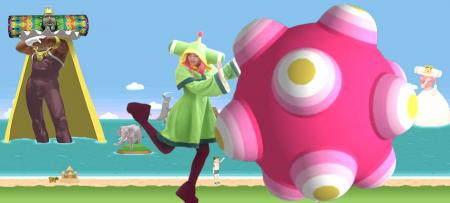 Prince of the Cosmos from Katamari Damacy worn by AmaRobot 2.0