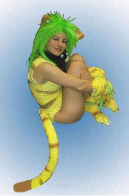 Cham Cham from Samurai Shodown Series