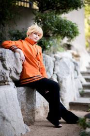 Naruto Uzumaki from Naruto Shippūden worn by Akai