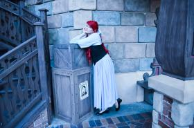 Ariel from Little Mermaid worn by Akai