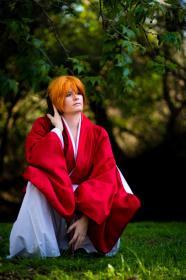 Kenshin Himura from Rurouni Kenshin worn by Akai