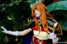 Lina Inverse from Slayers worn by Akai