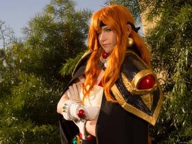 Lina Inverse from Slayers by Akai