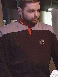 Captain Paul Slaine from Star Trek: The Next Generation