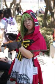 Gumi from Vocaloid 2 worn by atlantisan