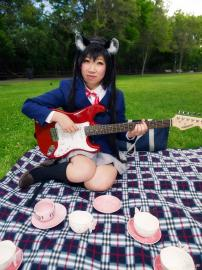 Azusa Nakano from K-ON! worn by atlantisan