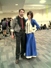 Elizabeth from Bioshock Infinite worn by Phoenix Kasai