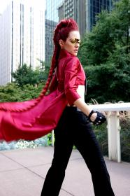 Crimson Viper from Street Fighter IV worn by Phoenix Kasai