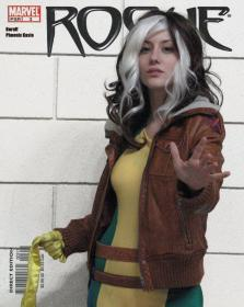 Rogue from X-Men worn by Phoenix Kasai