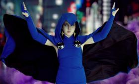 Raven from Teen Titans worn by Raven-Roth