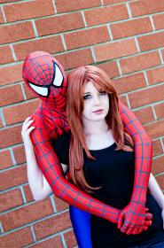 Mary Jane Watson 	 from Spider-man worn by Raven-Roth