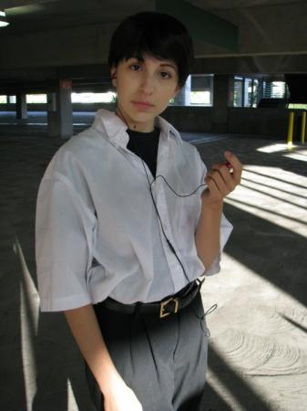 Shinji Ikari from Neon Genesis Evangelion