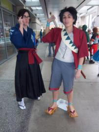 Mugen from Samurai Champloo worn by Megane