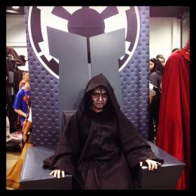 Emperor Palpatine from Star Wars Episode 3: Revenge of the Sith worn by kimixkimi