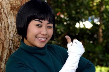 Rock Lee from Naruto worn by kimixkimi