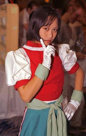 Nanami from Suikoden II worn by kimixkimi