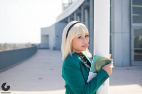 Gwen Stacy from Spider-man worn by kimixkimi