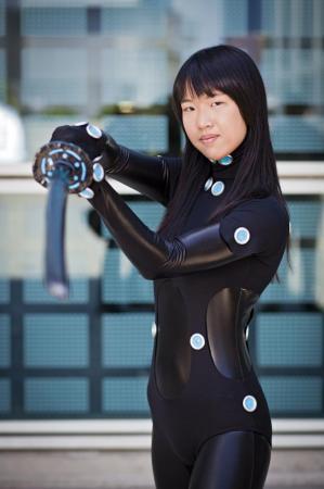 Shimohira Reika from Gantz