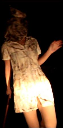 Bubblehead Nurse from Silent Hill worn by Meiwai