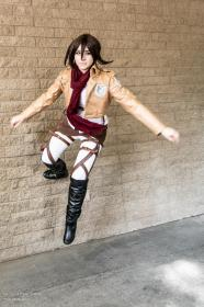 Mikasa Ackerman from Attack on Titan worn by Neeka
