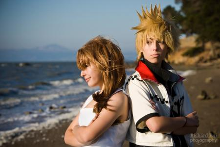 Roxas from Kingdom Hearts 2 worn by mochi-snack