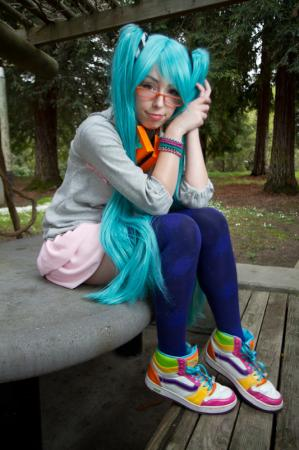 Hatsune Miku from Hatsune Miku -Project DIVA worn by mochi-snack