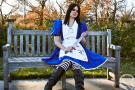 Alice from American McGee's Alice worn by Queen Kong